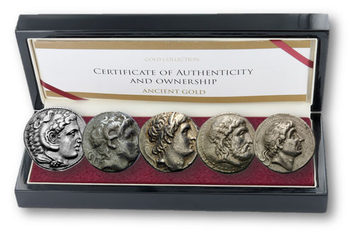The Diadochi: Exclusive Set of 5 Coins