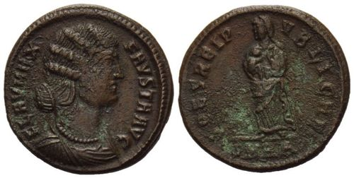 Roman Empire, Fausta, AE Follis